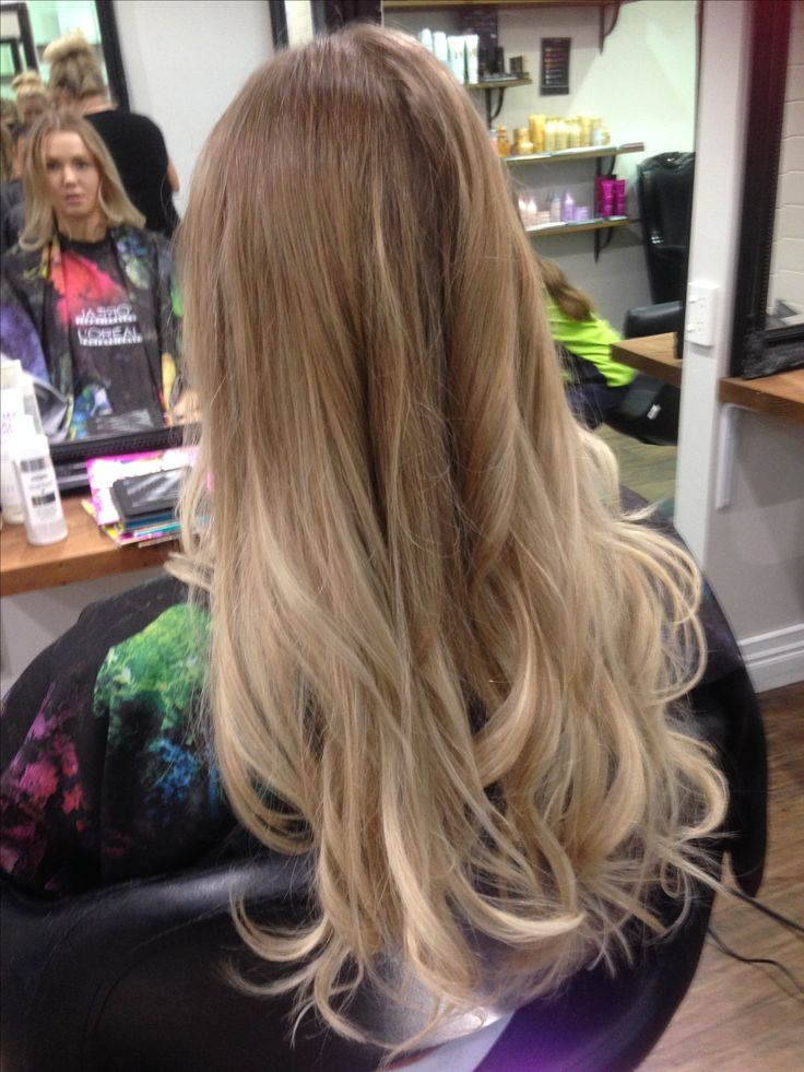 Balayage by nyree hairdresser Gold Coast hairdresser