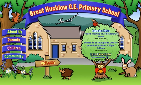 Visit Great Hucklow C.E. Primary School's website to see their moving characters: http://www.greathucklow.derbyshire.sch.uk/