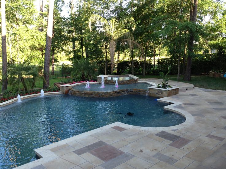 14 best images about regal pools on pinterest swimming for Pool design houston