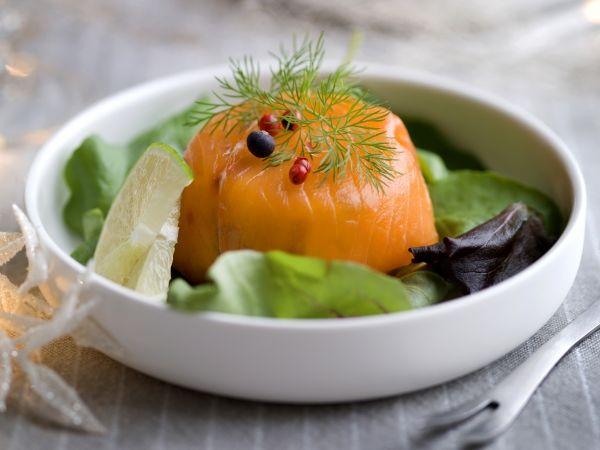 Gerookte zalmtimbaal met avocado - Libelle Lekker!