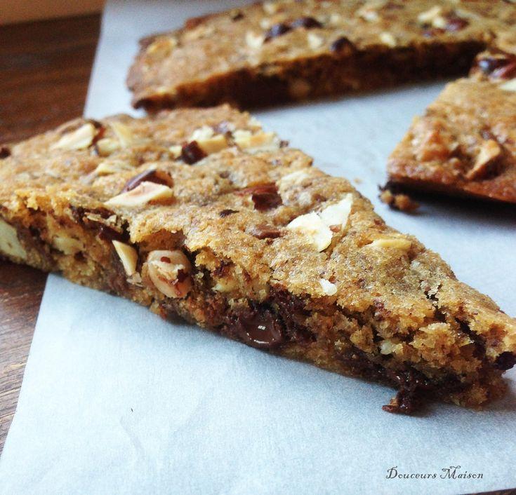 Cookie Géant Chocolat Furieusement Noisettes
