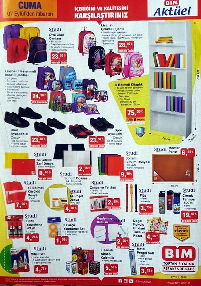 d67f4d5ea0a94 Bim okul eşyaları kırtasiye ürünleri 2018 kataloğu | Kampanyabul.org ...