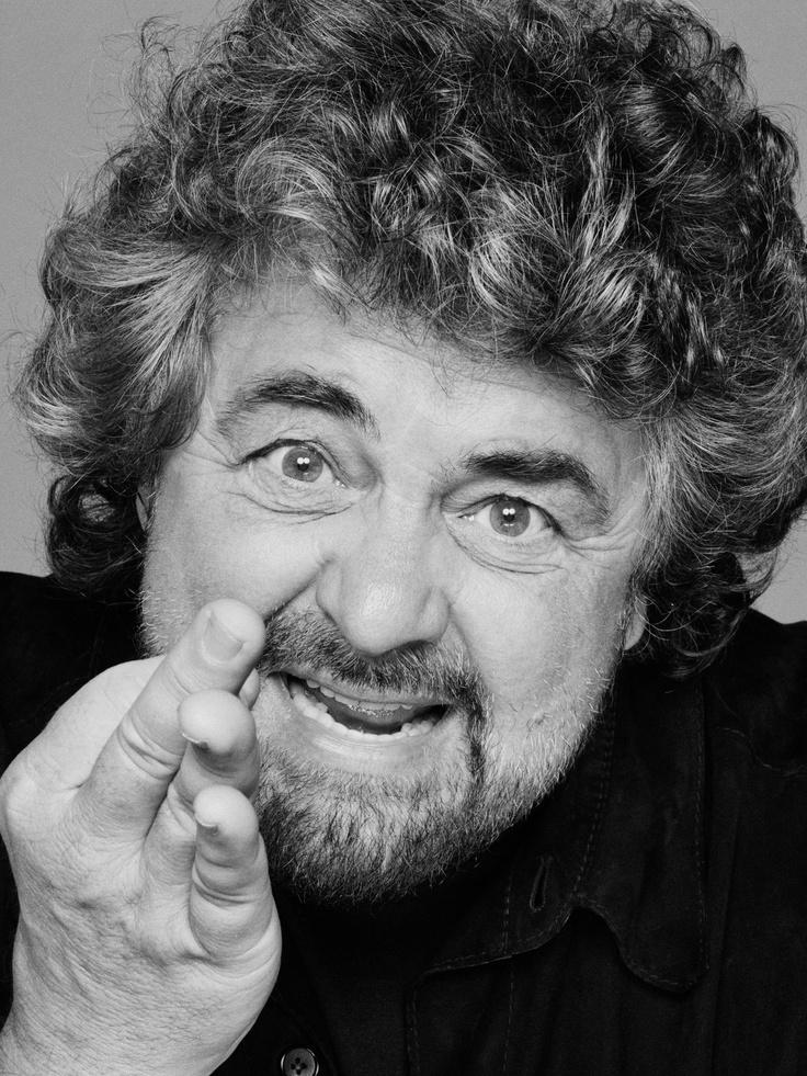 Beppe Grillo - 2013 - Movimiento 5 Stelle - Political Portrait