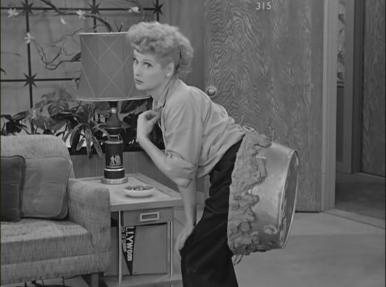 I Love Lucy Stuck In Cement Hollywood Episode