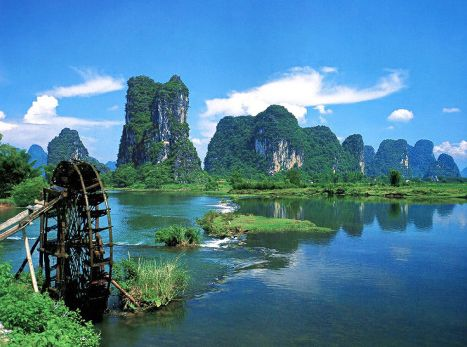 Yangshuo County China