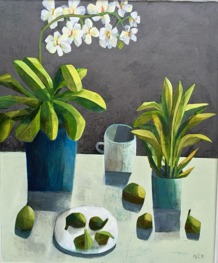 "Summers evening' 40x48"" acrylic on canvas Este MacLeod"
