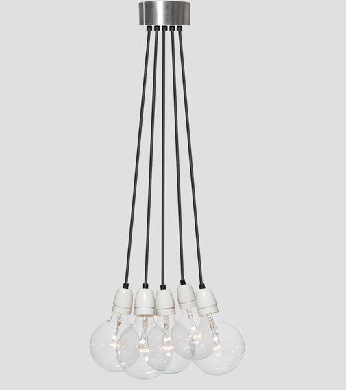 Het Lichtlab No.8 Bundle wit 5 lightbulbs!