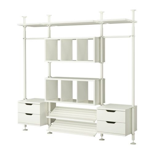 STOLMEN 3 Sections IKEA Height Adjustable From 82 Which Allows You To  Utilize The Entire Ceiling Height. Different Sections To Customise Closet