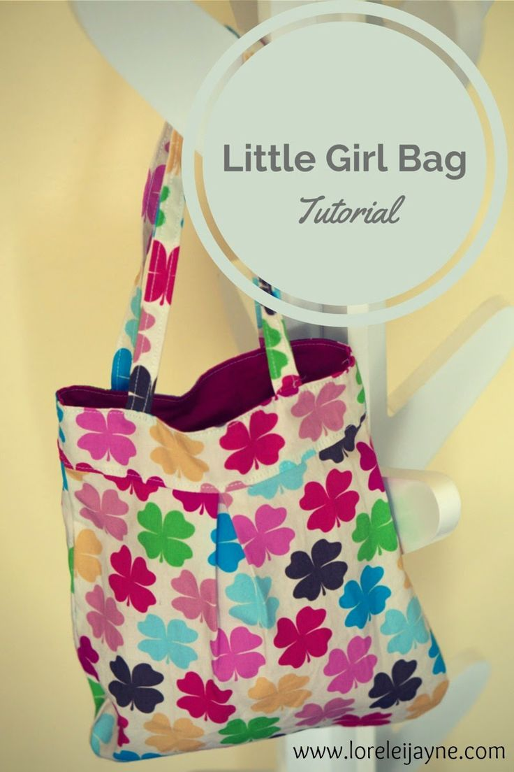 Lorelei Jayne: Little Girl Bag - free pattern