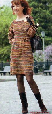 Меланжевое платье с рукавом регланИсточник: http://vjazem.ru/melanzhevoe-plat-e-s-rukavom-reglan/#more-5381© poleshuk.ru