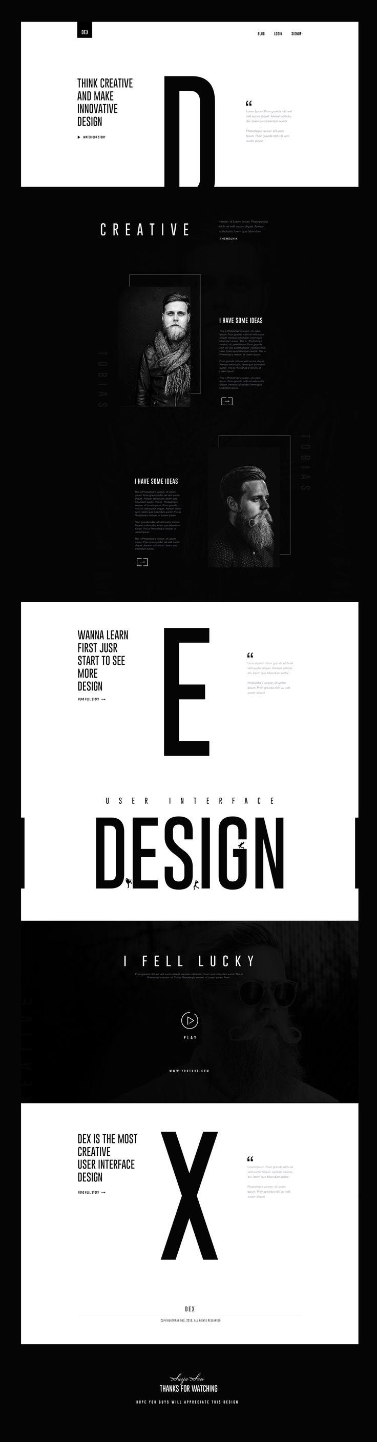https://www.behance.net/gallery/42274399/DEX-Creative-Landing-Page-Design