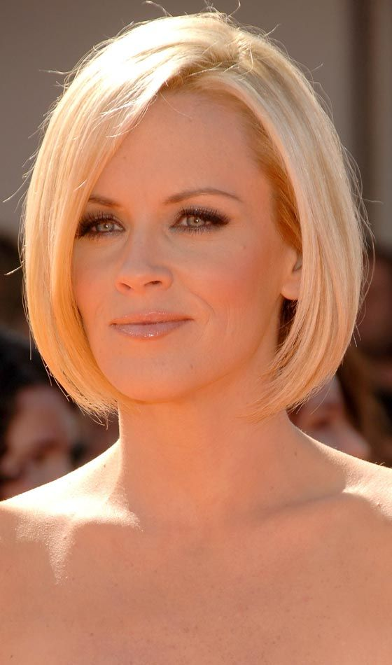 Neck Length Hairstyles 19 most popular bob hairstyles Find This Pin And More On Jenny Mccarthy By Andrew28smith Jenny Mccarthys Choppy Neck Length