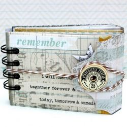 Mini Envelope Album with instructions and lots of inspiration