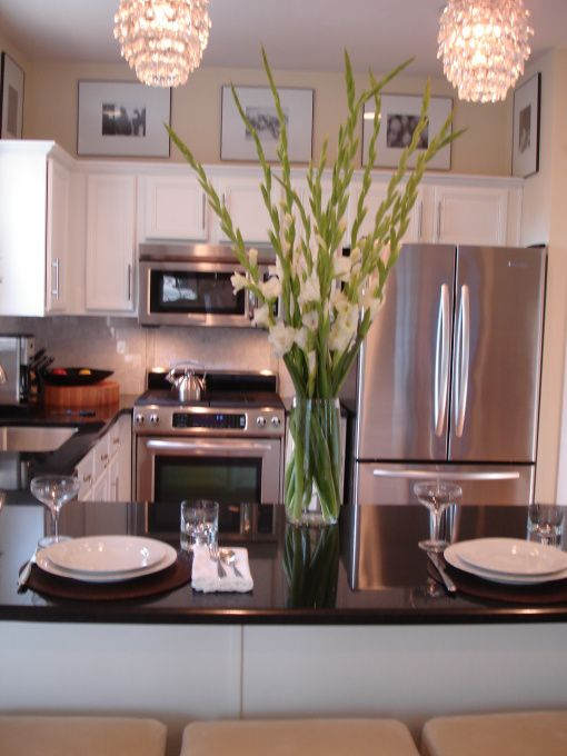 Perfect Stainless Steel Appliances Can Make A Big Difference In A Kitchen. The  Chandeliers Just Blow
