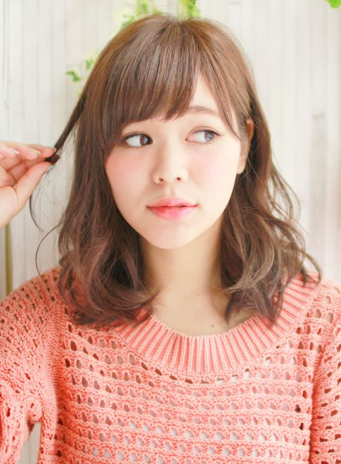 ルーズな抜け感ミディアム 【MAHALOA mahana】 http://beautynavi.woman.excite.co.jp/salon/24343?pint ≪ #mediumhair #mediumstyle #mediumhairstyle #hairstyle・ミディアム・ヘアスタイル・髪形・髪型≫