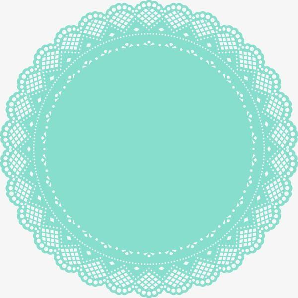Blue circle pad PNG Image