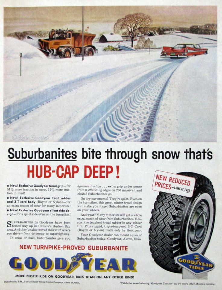 Vintage tire ad