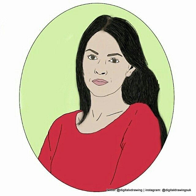 Lacey Turner who plays Stacey Slater in EastEnders #eastenders #digitaldrawing