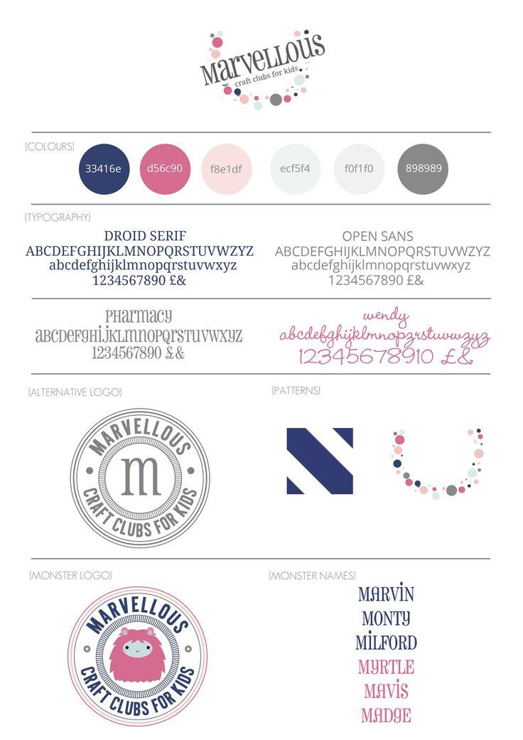 Marvellous Branding Board www.itsmarvellous.co.uk