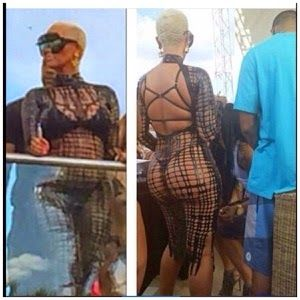 Welcome to Elizabeth Aluko's Blog: Watch Video of Amber Rose Tweaking in Bikini at th...