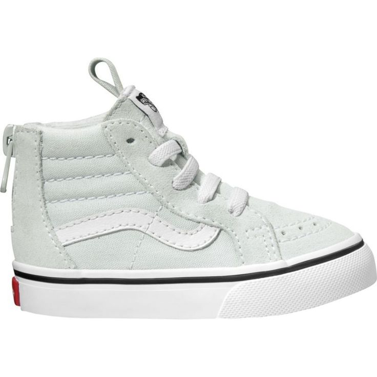 Vans Toddler Sk8-Hi Zip Shoes, Toddler Boy's, White