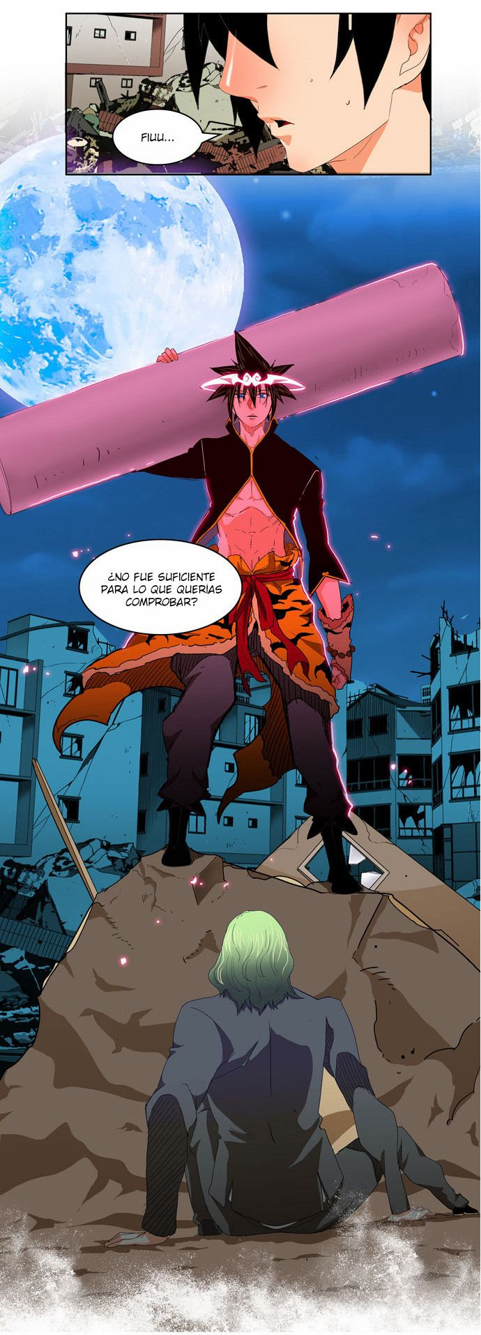 The god of highschool by Gumdeong Girl cartoon, Anime