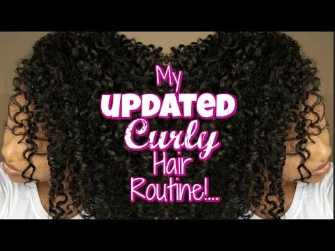 My UPDATED Curly Hair Routine! :: Summer 2016 - YouTube