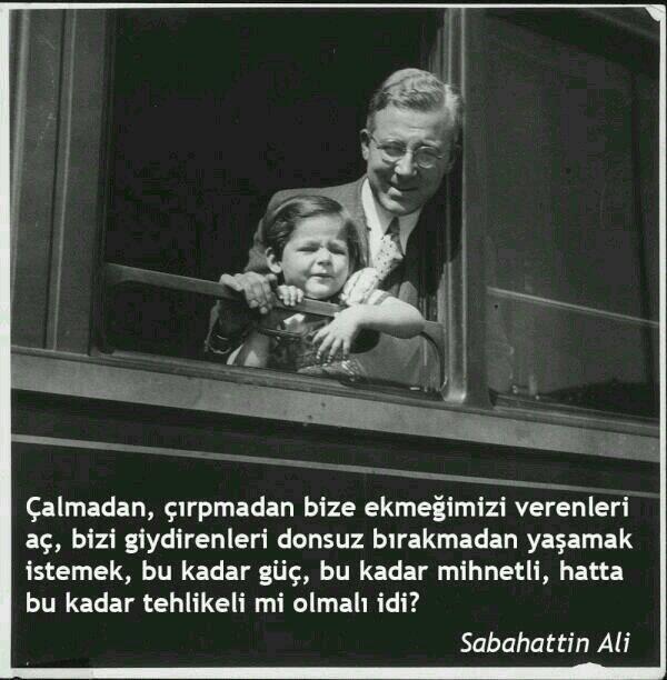 Gündeme de çok uydu hani. Doğum günün kutlu olsun Sabahattin Ali. pic.twitter.com/5V1QmRKg0A