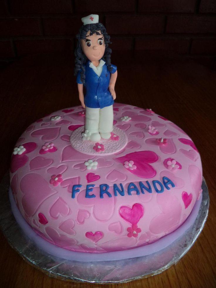 #nurse #cake #enfermera By @VolovanProducto
