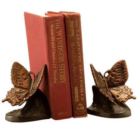 Butterfly Bookends.