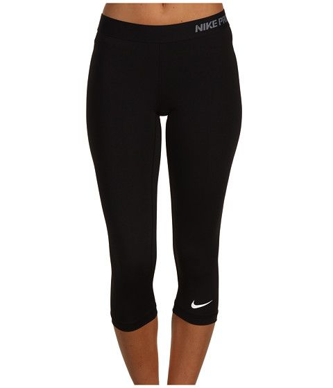 Nike Pro Core II Compression Capri - Zappos.com Free Shipping BOTH Ways - Great for exercising or just relaxing at home....