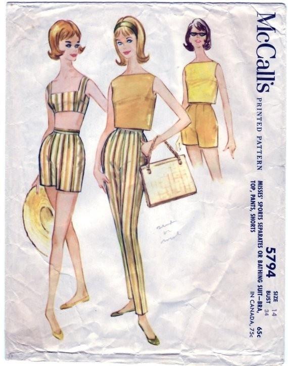 46 besten 60\'s patterns Bilder auf Pinterest | Vintage schnittmuster ...