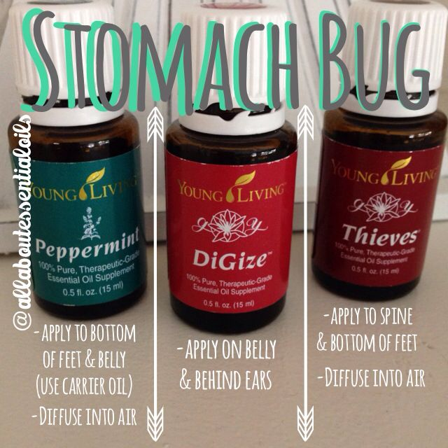 Stomach bug relief! For more useful tips about essential