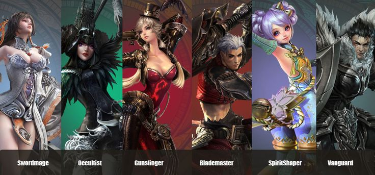 Revelation Online Characters FAQ | The different classes of RO.