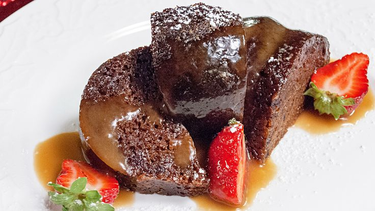 Sticky Toffee Pudding | Spencer Watts | Gusto TV
