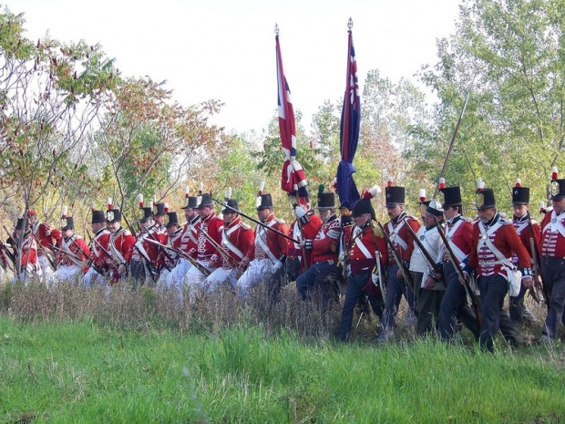 Redcoats - War of 1812. The war between the Americans and British for what is now modern-day Canada