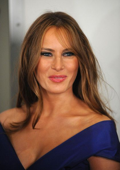 "Melania Trump Photos - Melania Trump attends ""The Celebrity Apprentice"" season finale at the at American Museum of Natural History on May 10, 2009 in New York City. (Photo by Brad Barket/Getty Images) * Local Caption * Melania Trump - ""The Celebrity Apprentice"" Season Finale"