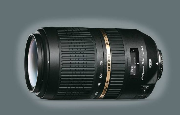 My new zoomlens to go out on wildlife shoots. SP AF 70-300 F/4-5.6 Di VC USD - Tamron
