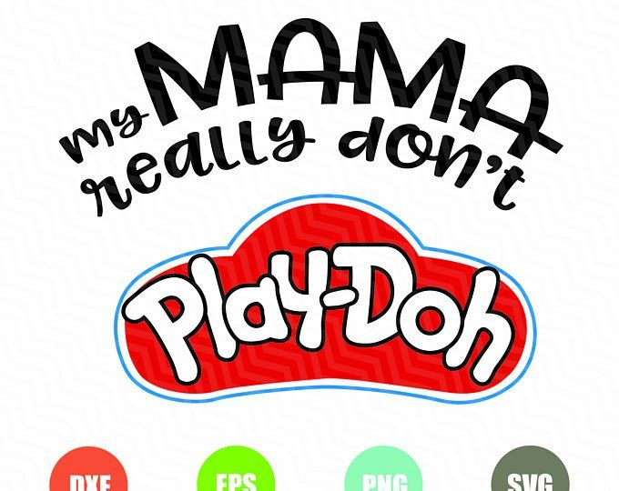 Play Doh Svg Files Heat Transfer Vinyl Projects Custom Tshirts Unique Items Products