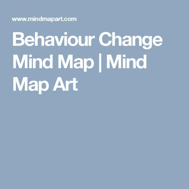 Behaviour Change Mind Map   Mind Map Art