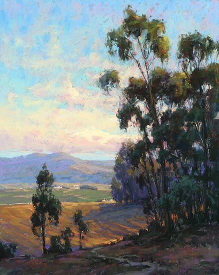 Salinas Valley Overlook by Kim Lordier Pastel ~ 30 x 24