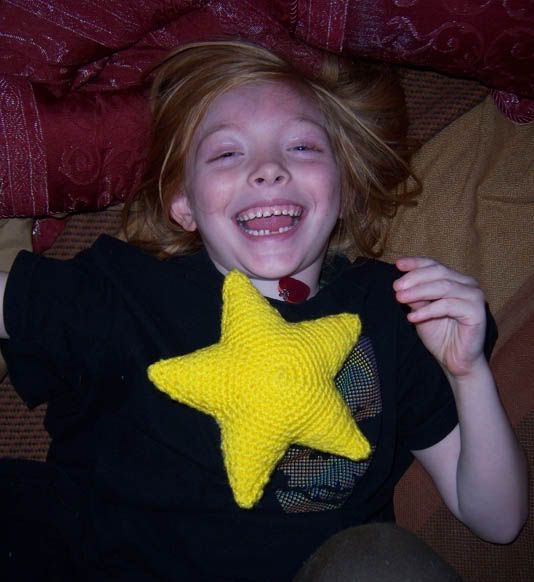 """Star Stuffie """"Twinkle Star"""" *Pattern Included* - CROCHET"""
