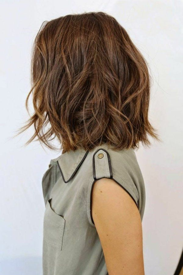 Lifestyle Trends Madchenfrisuren Ideen Mittellanges Haar Wellig
