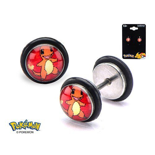 18g Charmander Fake Plugs #Fake-Plugs #Logo #Pair