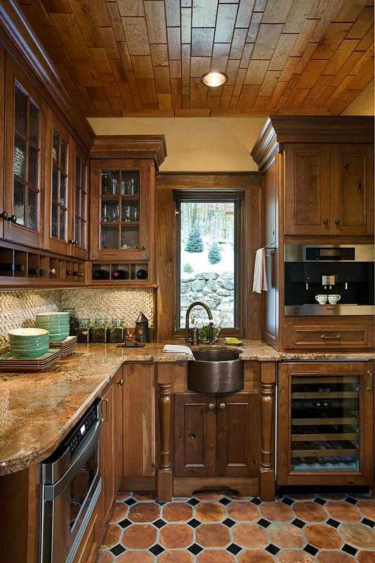 Rustic Kitchen Remodel Set Home Design Ideas Inspiration A Frame Remodel Set