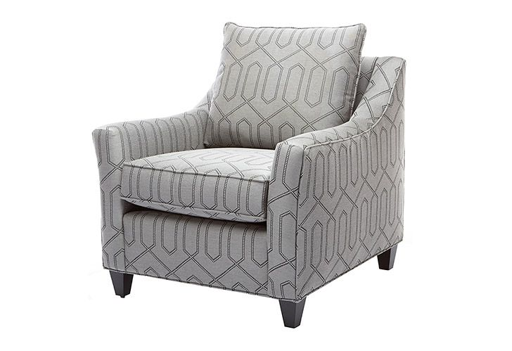 The Charlie Chair is part of the Jane by Jane Lockhart furniture line.