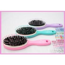 @Smoobee Magic No Cry Brush Magic No Cry Brush the Magic No Cry Hairbrush really does work to brush your child's hair without snagging or catching! They finally won't run away from you when it's time to brush their hair. Parents who have tested it say that it even works incredibly well on curly hair!