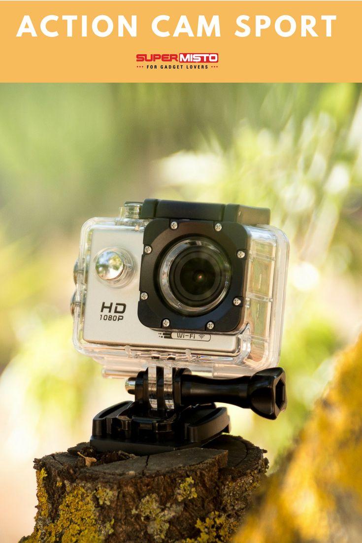 Camera Sport perfecta pentru vacantele la mare sau la munte! #actioncam #videocam