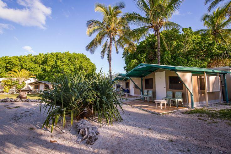 Eco Cabin accommodation on #ladyelliotisland (shared bathroom facilities) | www.ladyelliotisland.com.au