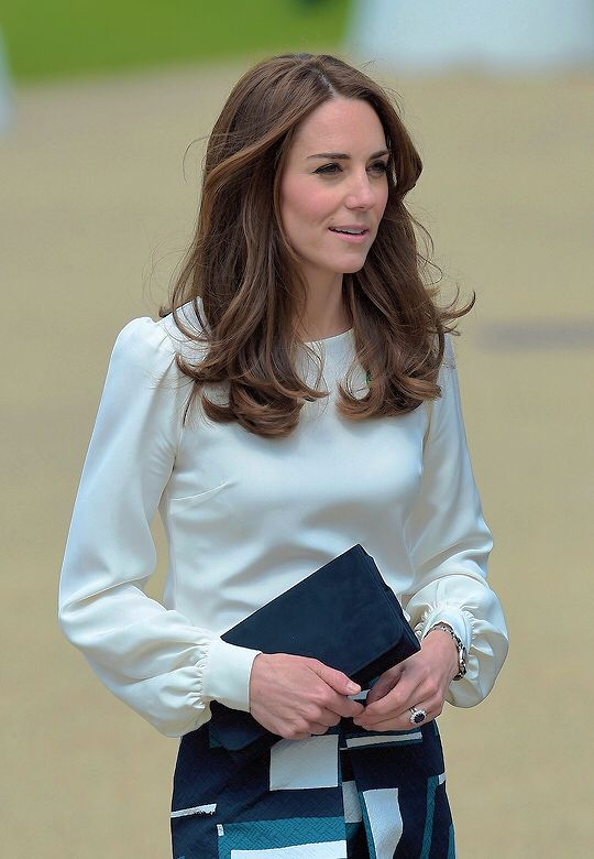 Catherine, Duchess of Cambridge, arrives at Queen Elizabeth Olympic Park to attend the launch of the Heads Together Campaign on May 16, 2016 in London, England.